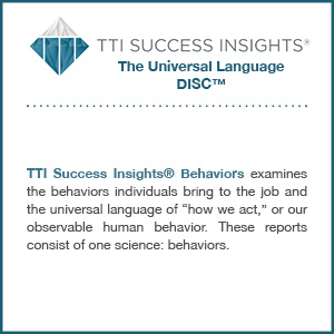 TTI Success Insights® The Universal Language DISC™ assessment product description