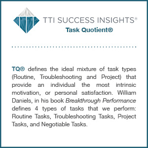 TTI Success Insights® Task Quotient® assessment description