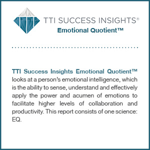 TTI Success Insights® Emotional Quotient™ assessment product description