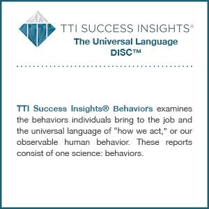 TTI Success Insights® The Universal Language DISC™ assessment product description