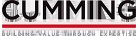 Cumming logo Building Value Through Enterprise tagline