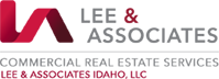 Lee & Associates logo Commercial Real Estate Services Lee & Associates Idaho, LLC tagline