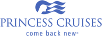 Princess Cruises logo come back new logo tagline