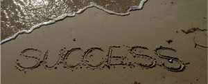 Success in the sand