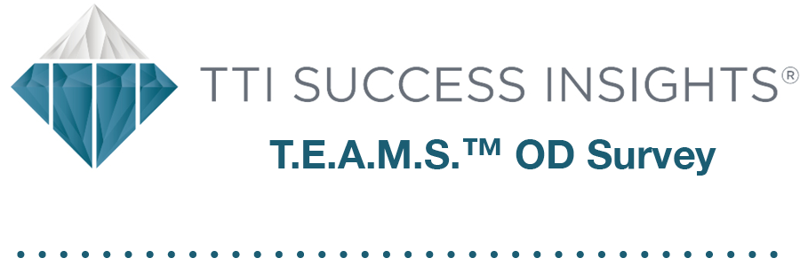 TTI Success Insights® T.E.A.M.S.™ OD Survey